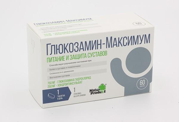 Глюкозамин Максимум тбл 60 БАД
