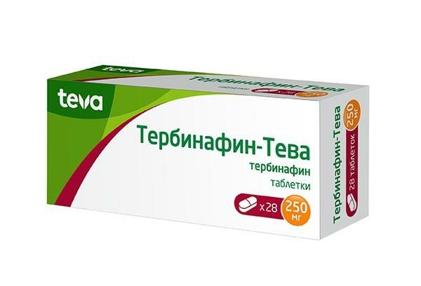 Тербинафин-Тева 250мг тбл 28
