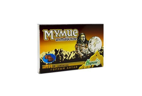 Мумие алтайское Нарине тбл 20 БАД