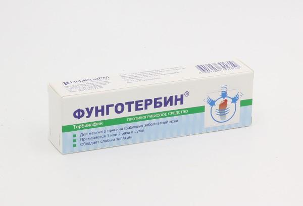 Фунготербин 1% крем д/наруж прим 15г