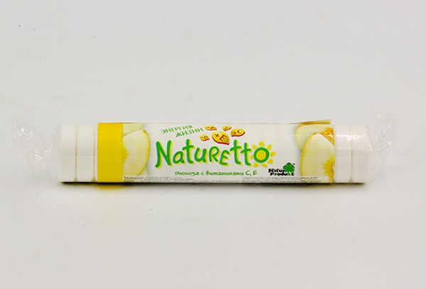 Натуретто витамин С и Е (дыня) тбл 39г БАД