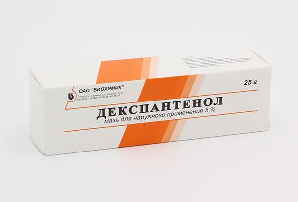 Декспантенол 5% мазь д/наруж прим 25г туба