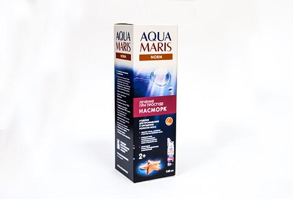 Аква Марис норм раствор изотонический для промывания носа 150мл