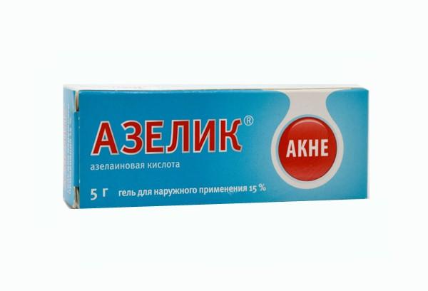 Азелик 15% гель 5г