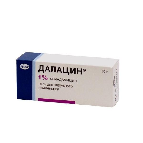 Далацин 1% гель д/наруж прим 30г