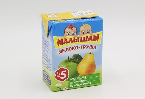 Дет Нектар Фрутоняня Малышам яблоко-груша 200мл