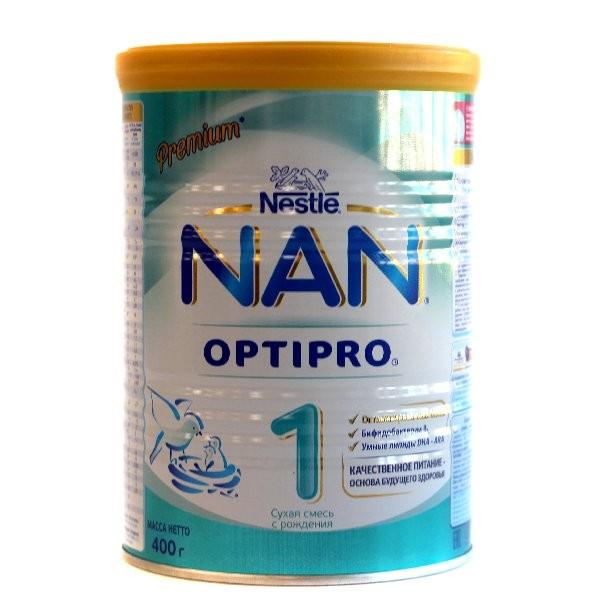 Детская Смесь НАН Optipro 1 молочная 400г