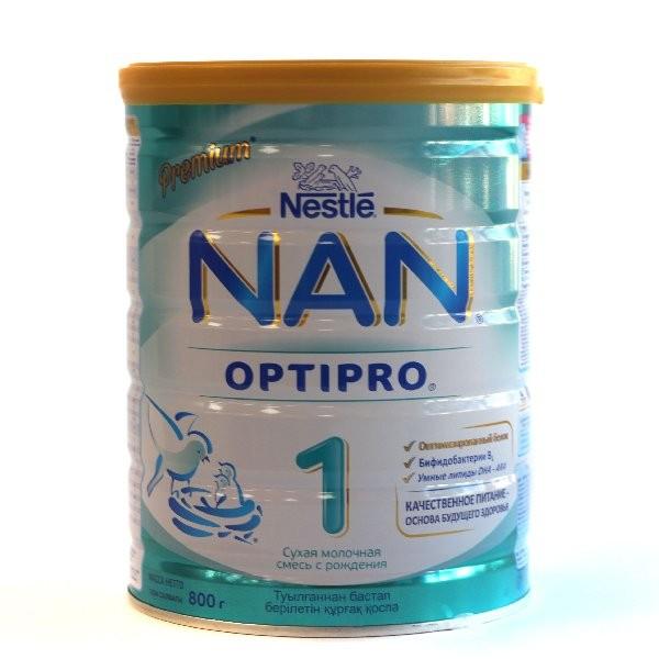 Дет Смесь НАН Optipro 1 молочная 800г