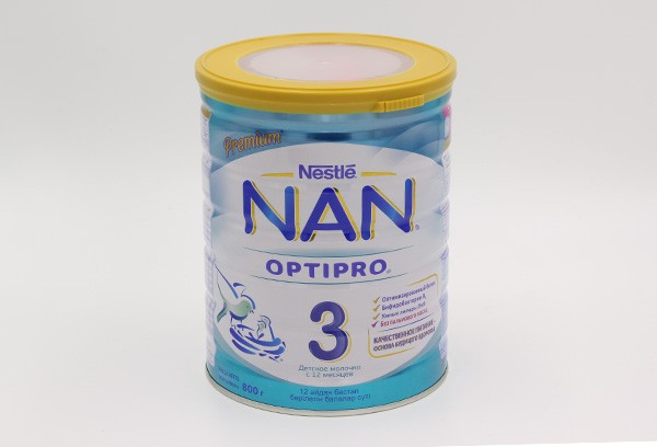 Детская Смесь НАН Optipro 3 молочная 800г