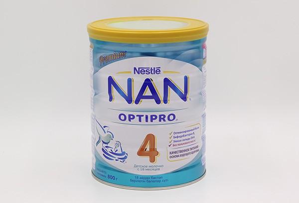 Детская Смесь НАН Optipro 4 молочная 800г