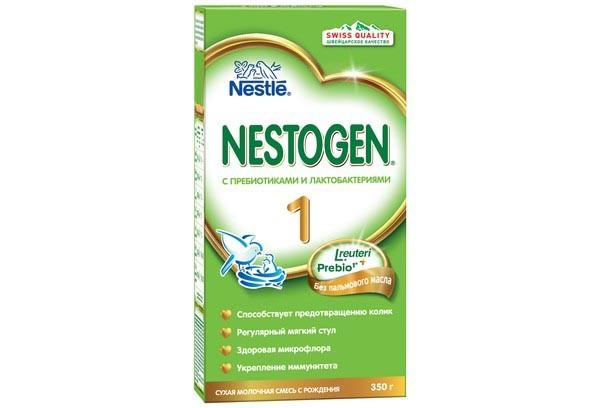 Детская Смесь Нестожен 1 молочная с пребиотиками 300г