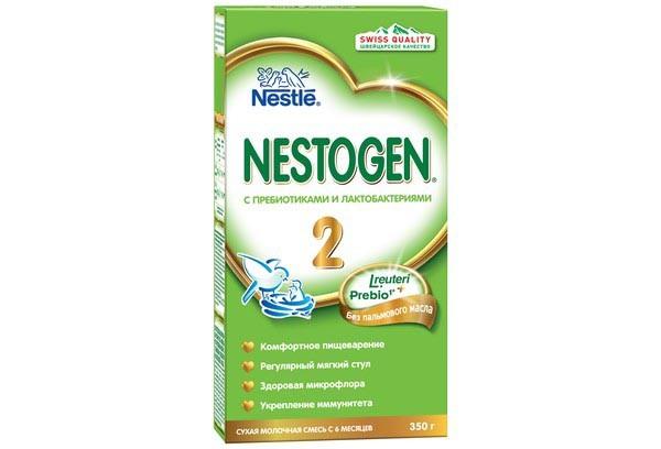 Детская Смесь Нестожен 2 молочная с пребиотиками 300г