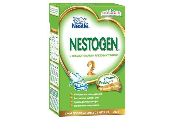 Детская Смесь Нестожен 2 молочная с пребиотиками 600г