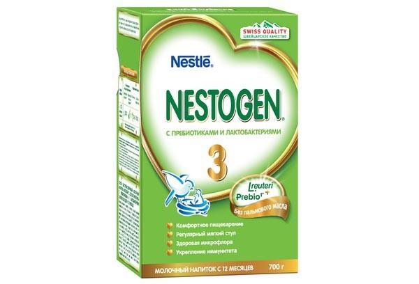 Дет Смесь Нестожен 3 молочная с пребиотиком 600г