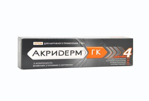 Акридерм ГК крем 15г