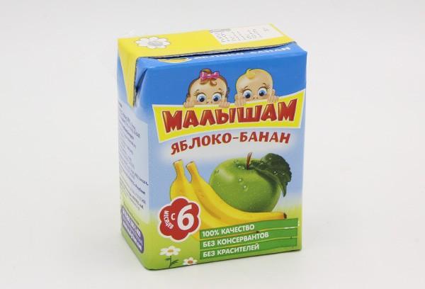 Дет Нектар Фрутоняня Малышам яблоко банан 200мл