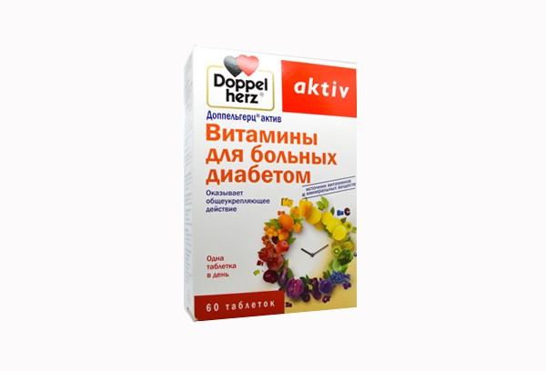 Доппельгерц Актив Вит д/больн диаб тбл 60 БАД