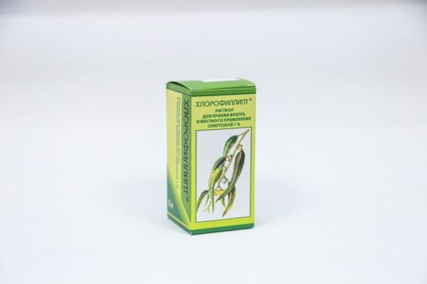 Хлорофиллипт 1% спирт р-р 50мл