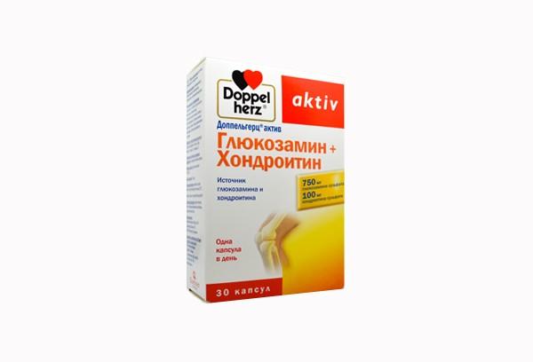 Доппельгерц Актив Глюкозамин+Хондроит капс 30 БАД