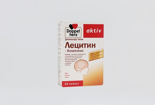 Доппельгерц Актив Лецитин Комплекс капс 30 БАД