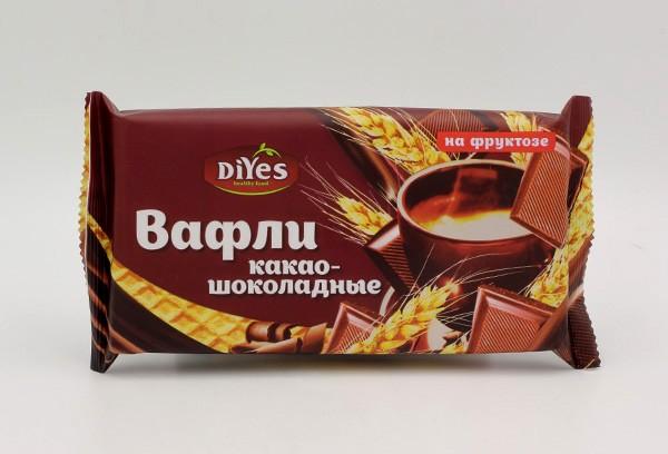 ДП Вафли ДиYes какао-шоколадные на фруктозе 90г