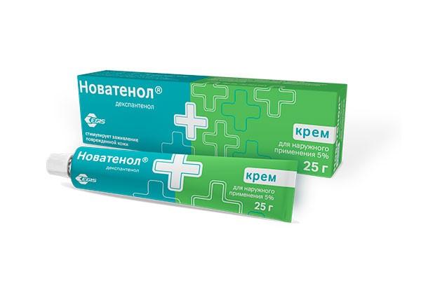Д-Пантенол (Новатенол)5% крем д/наруж прим 25г /Ядран/