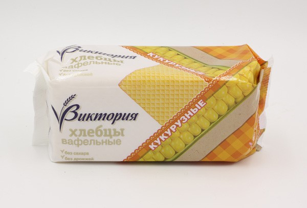 ДП Хлебцы Виктория вафельные кукурузные 70г