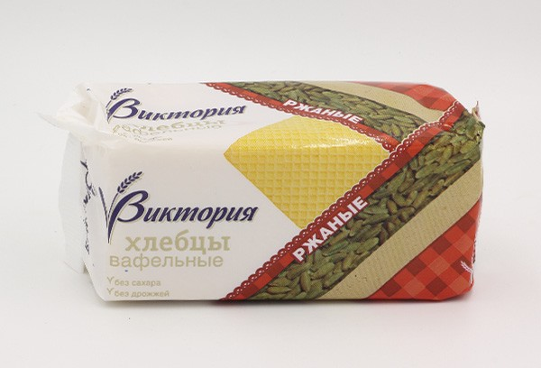 ДП Хлебцы Виктория вафельные ржаные 60г