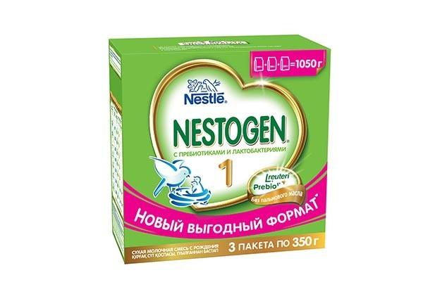 Дет Смесь Нестожен 1 молочная с пребиотиками 3*350г