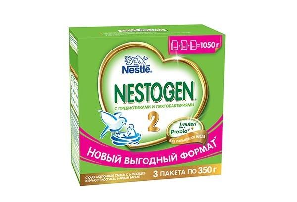 Дет Смесь Нестожен 2 молочная с пребиотиками 3*350г
