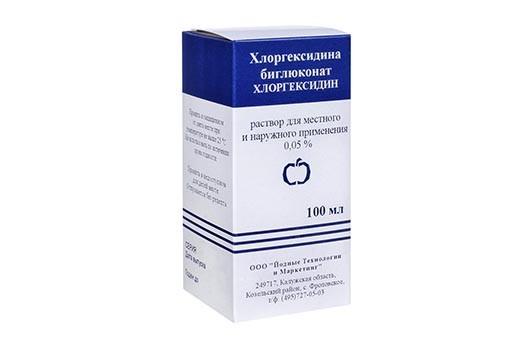 Хлоргексидин 0,05% р-р д/местного и наруж прим 100мл п/эт