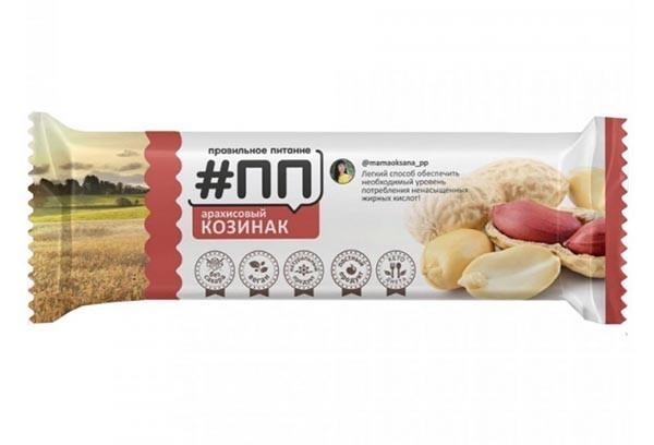 ДП Козинак арахисовый 40 г