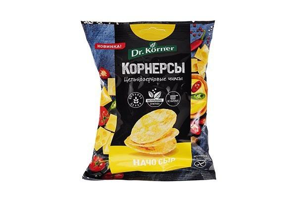 ЗДП Чипсы цельнозерновые с сыром и Начо 50г