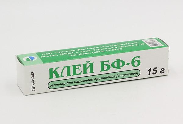 Клей БФ-6 р-р д/наруж прим 15г