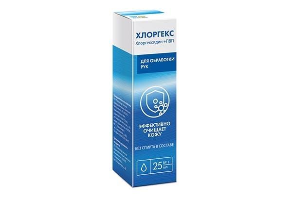 Хлоргекс для обработки рук 25мл/RENEWAL/