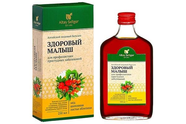 Бальзам Алтайский медовый Здоровый малыш 250мл