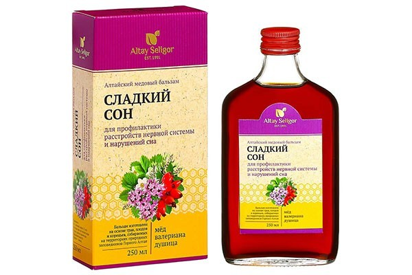 Бальзам Алтайский медовый Сладкий сон 250мл