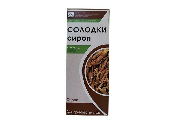 Сироп Солодки с витамином С 100мл БАД