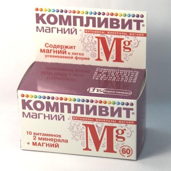 Компливит Магний тбл п/об 60 БАД