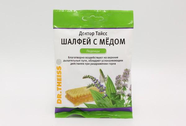 Леденцы Шалфей с мёдом Д-р Тайсс 50г БАД
