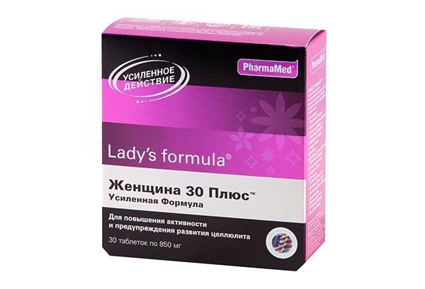 Леди-С формула Женщина 30 плюс усилен тбл 30 БАД