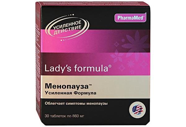 Леди-С формула Менопауза усилен форм тбл 30 БАД