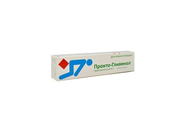 Прокто-Гливенол крем рект 30г