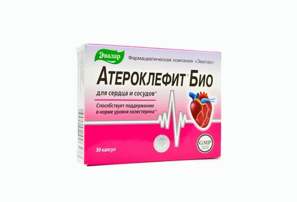 Атероклефит БИО капс 30 БАД