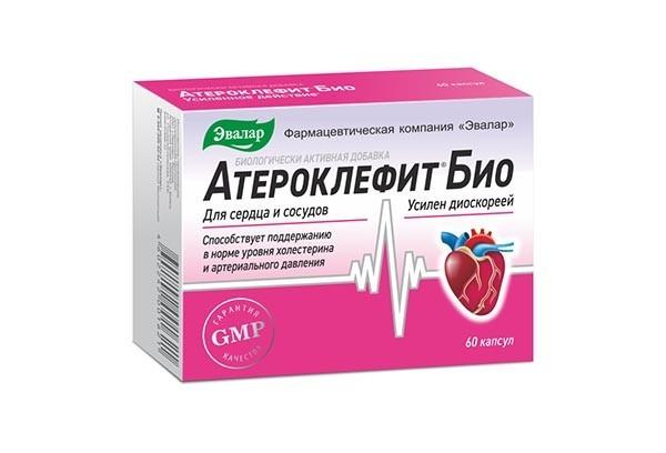 Атероклефит БИО капс 60 БАД