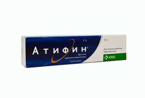 Атифин 1% крем д/наруж прим 15г