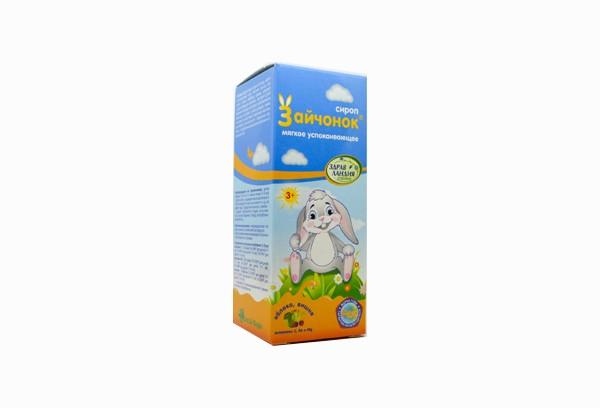 Зайчонок сироп успокаивающий для детей 100мл БАД
