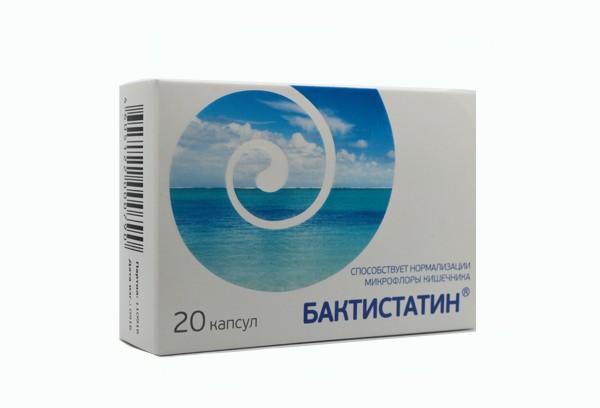 Бактистатин капс N20 БАД