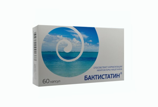 Бактистатин капс N60 БАД