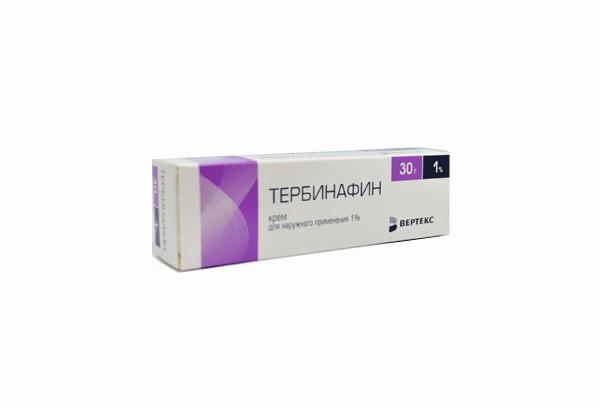 Тербинафин 1% крем д/наруж прим 30г